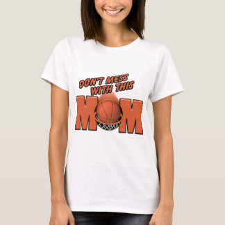 T-shirt Maman de basket-ball