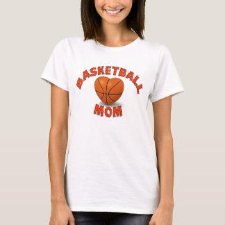 T-shirt Maman de basket-ball - actionnée par la caféine