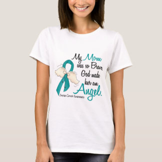 T-shirt Maman de Cancer ovarien de l'ange 2