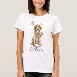 T-shirt Maman de coeur de griffon