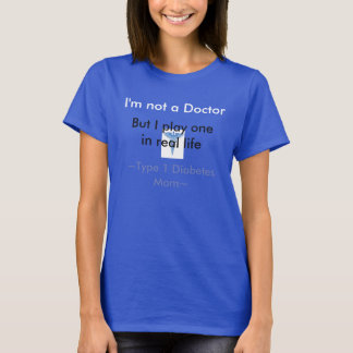 T-shirt Maman de diabète de type 1