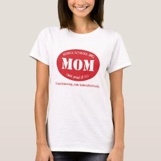 T-shirt Maman de Homeschooling (et fiers de lui !)