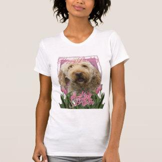 T-shirt Maman de joyeux anniversaire - Goldendoodle