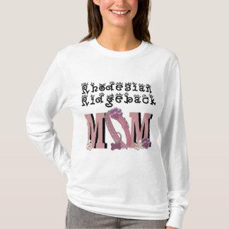 T-shirt MAMAN de Rhodesian Ridgeback