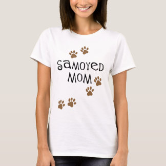 T-shirt Maman de Samoyed