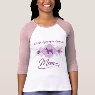 T-shirt Maman de springer spaniel de Gallois