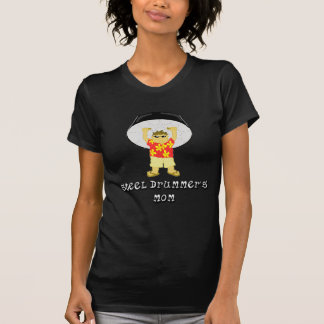 T-shirt Maman de tambour métallique