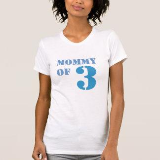 T-shirt Maman de trois