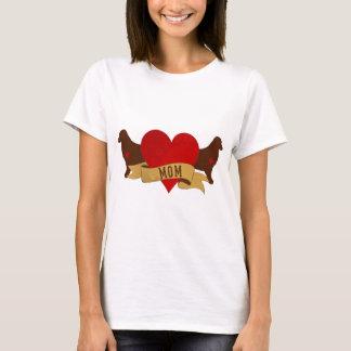 T-shirt Maman d'or [style de tatouage]