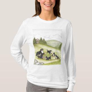 T-shirt Maman et chiots