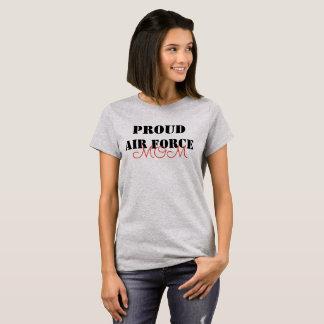 T-shirt Maman fière d'armée de l'air