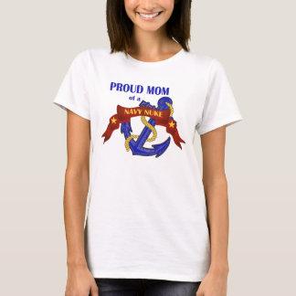 T-shirt Maman fière d'une arme nucléaire de marine
