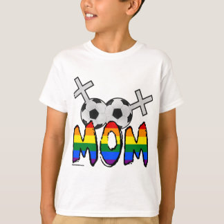 T-shirt Maman lesbienne du football