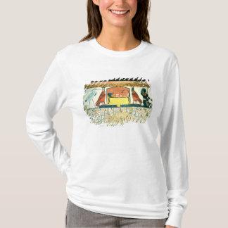 T-shirt Maman sur un lit funèbre avec de diverses