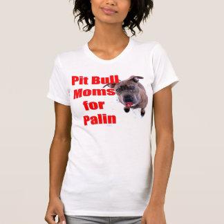 T-shirt Mamans de Pitbull pour Sarah Palin