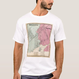 T-shirt Mamaroneck, cou de Rye