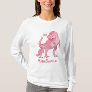 T-shirt MamaSaurus T-Rex et dinosaures de bébé