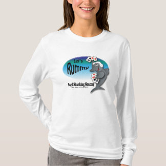 T-shirt Mamie drôle de Sharking de carte