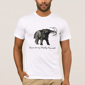 T-shirt Mammouth laineux