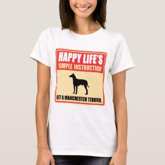 T-shirt Manchester Terrier