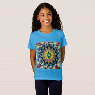 T-Shirt Mandala coloré