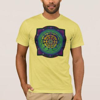T-shirt Mandala de l'OM (AUM) Yantra