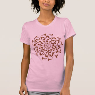 T-shirt Mandala de remous de henné