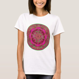 T-shirt Mandala de Sri Lakshmi Yantra