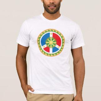 T-shirt Mandala philippin de signe de paix