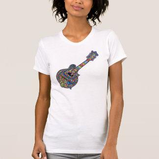 T-shirt Mandoline de mosaïque