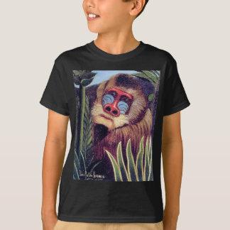 """T-shirt Mandrill de Rousseau """"dans la jungle"""" (circa 1909)"""
