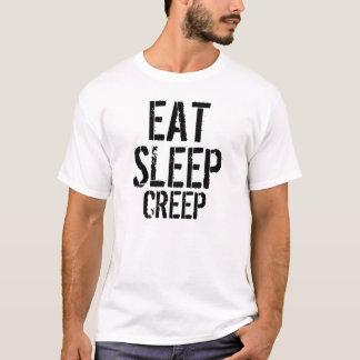 T-shirt Manger-Sommeil-Fluage