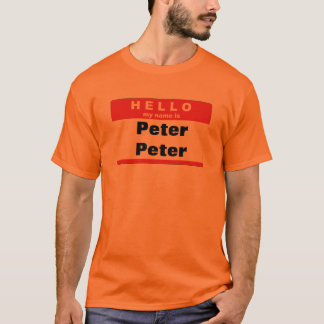 T-shirt Mangeur de citrouille de Peter Peter