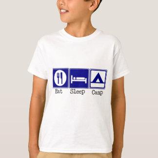 T-shirt Mangez, dormez, campez