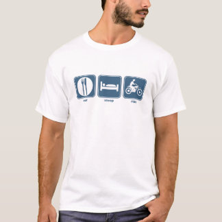 T-shirt mangez, dormez, montez