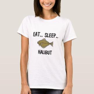 T-shirt Mangez du FLÉTAN de sommeil