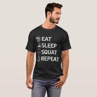 T-shirt Mangez la chemise de séance d'entraînement de