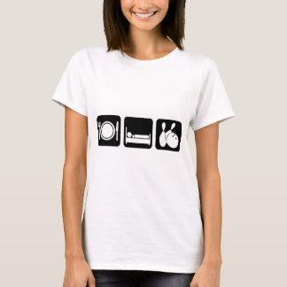T-shirt mangez la cuvette de sommeil