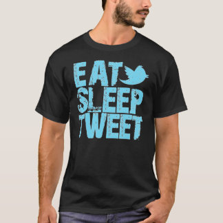 T-shirt Mangez le bip de sommeil