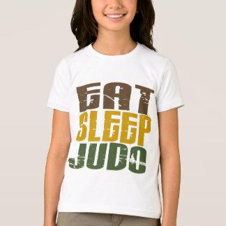 T-shirt Mangez le judo 1 de sommeil