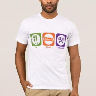 T-shirt Mangez le serrurier de sommeil