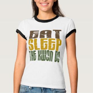 T-shirt Mangez le sommeil le Taekwondo 1