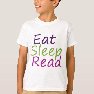 T-shirt Mangez le sommeil lu