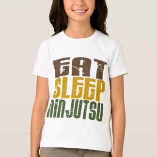 T-shirt Mangez le sommeil Ninjutsu 1