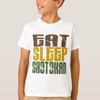 T-shirt Mangez le sommeil Shotokan 1