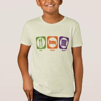 T-Shirt Mangez l'édredon de sommeil