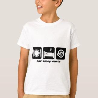 T-shirt Mangez les dards de sommeil