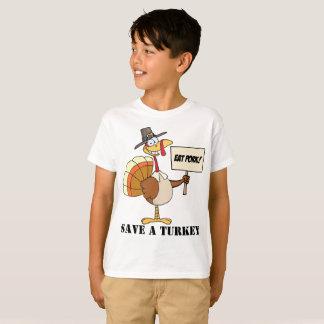 T-shirt Mangez les économies de porc la Turquie