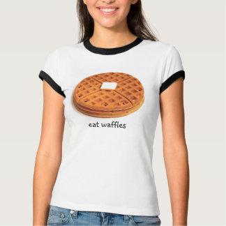 T-shirt Mangez les gaufres