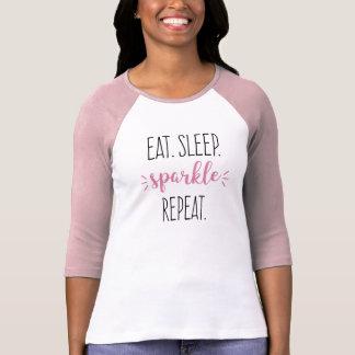 T-shirt Mangez les maquilleurs de danseurs de répétition